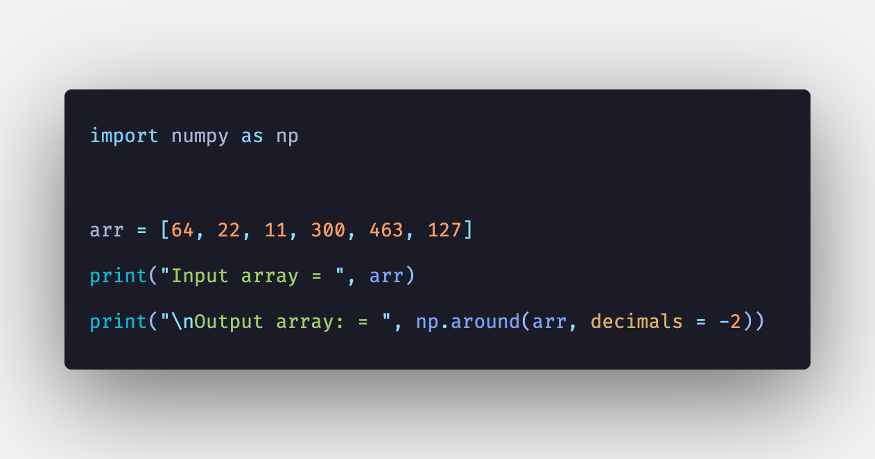 Numpy around: How to Use np around() Function