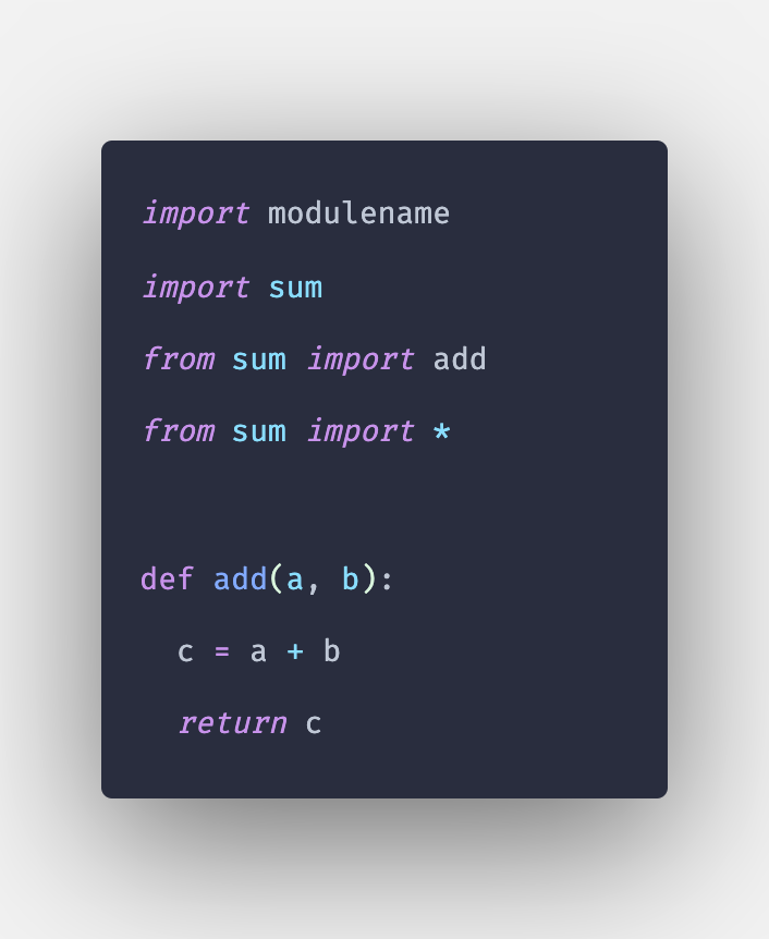 How to Import File in Python   Import Modules in Python