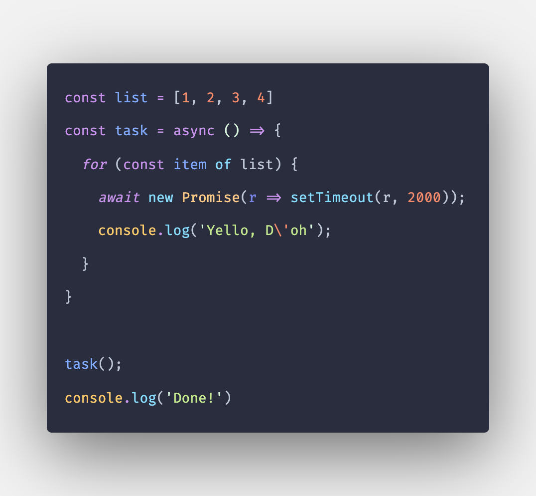How to Make your Functions Sleep in JavaScript