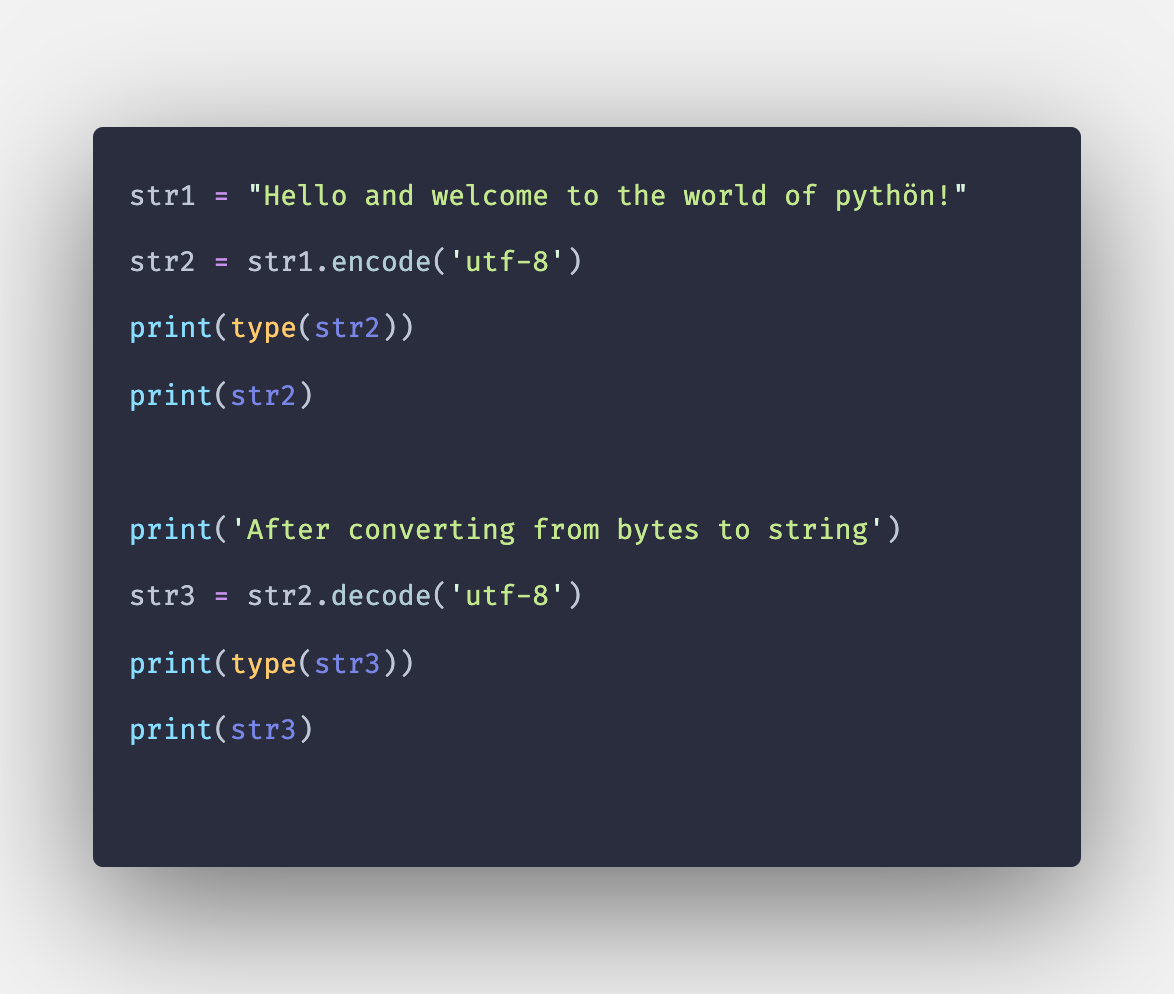 How to Convert Python Bytes to String with Example