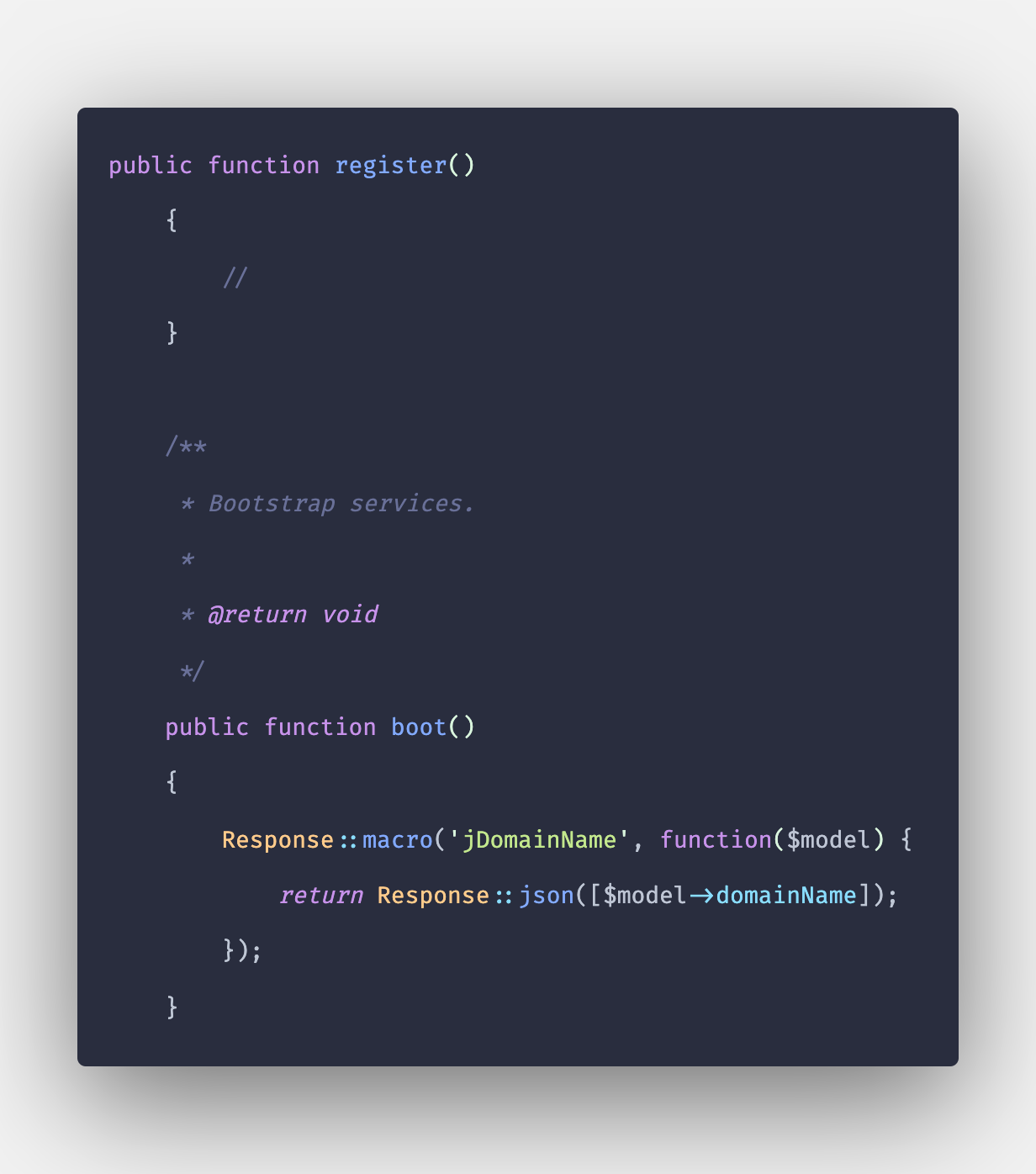 Laravel 8 Route Macros Step by Step Example