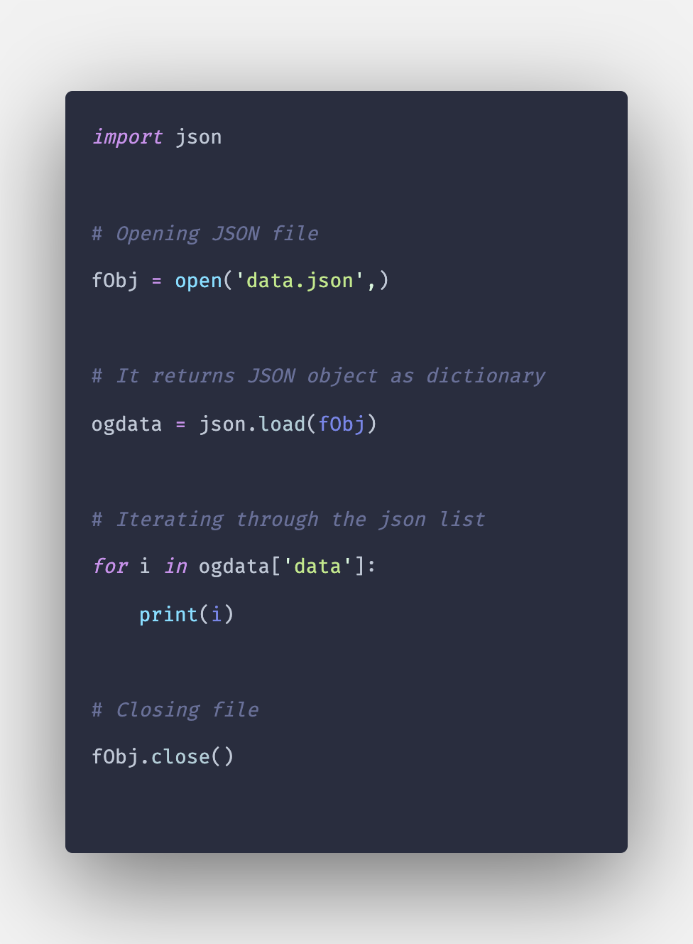 Python json.load() Function Explained with Example