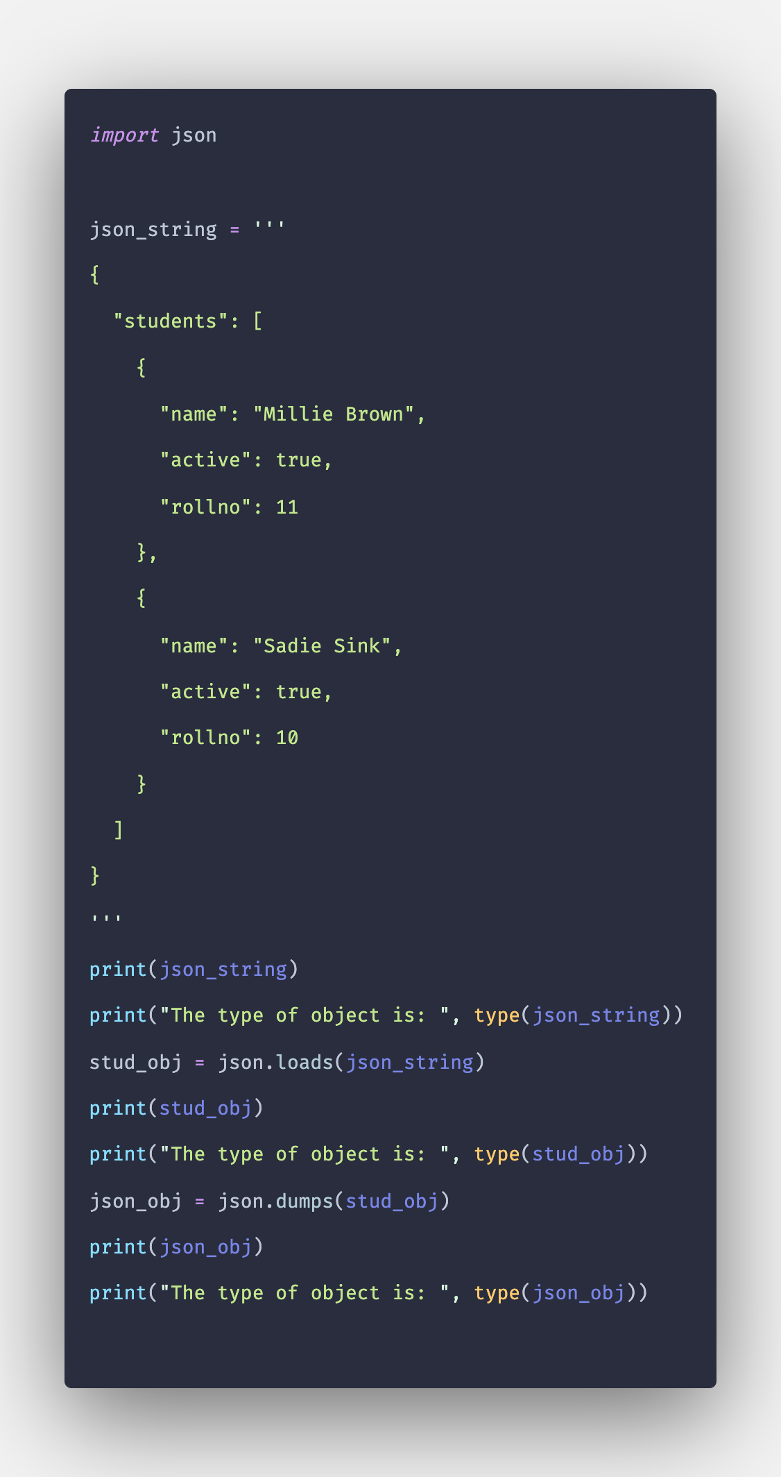 How to Convert Python String to JSON Object