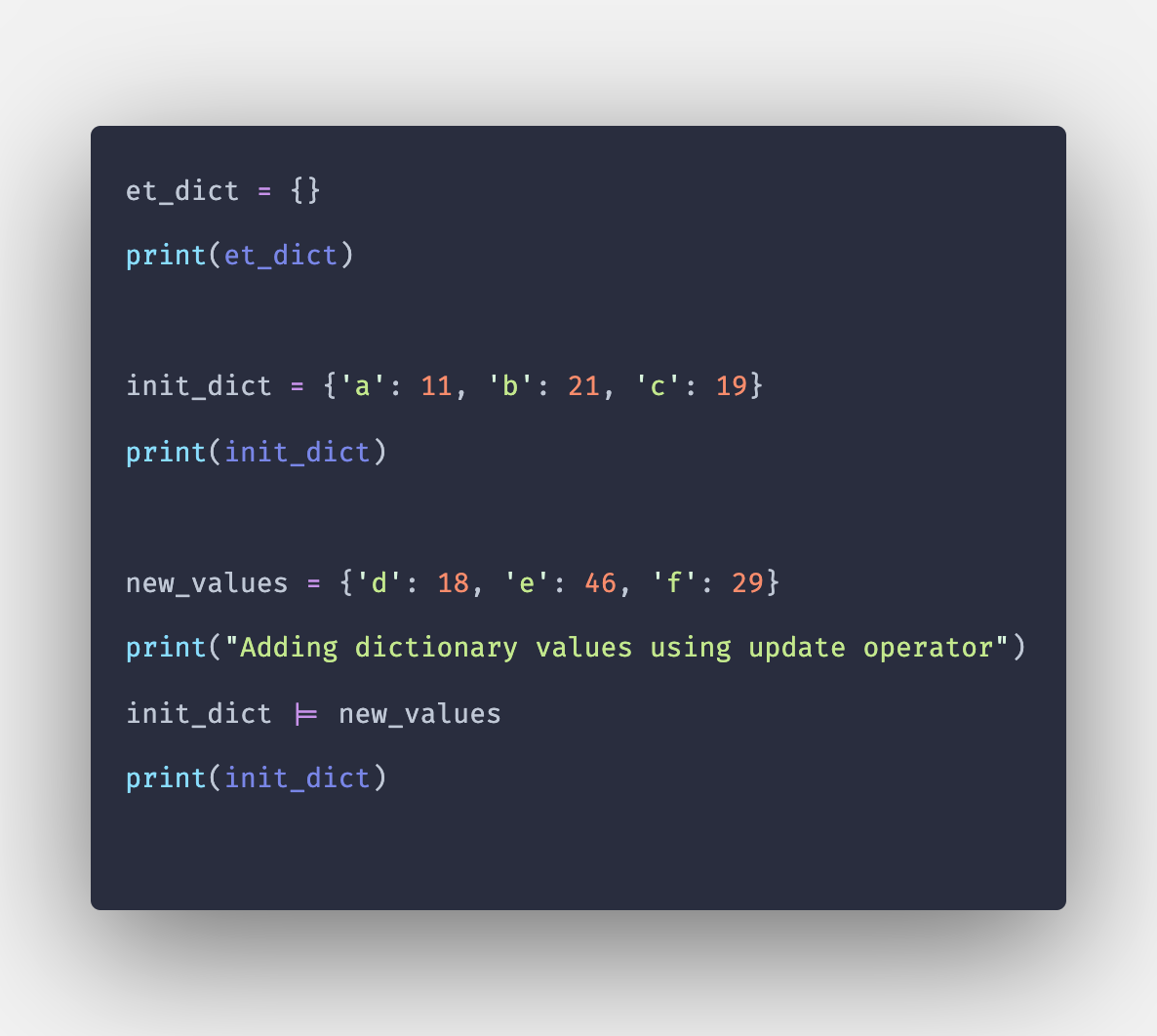 How to Add Values to Dictionary in Python